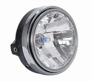 ヤマハ マルチ リフレクター ヘッド ライト ランプ 純正タイプ XJR400R 4HM RH02J RZ250R R1-Z 等 汎用 パーツ 社外品の画像
