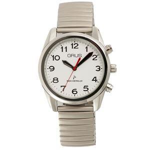 reputable site 7ebd6 d1899 5000円以上送料無料 GRUS(グルス) 音声時計 ボイス電波 トーキングウォッチ 伸縮ベルト GRS003-01  ファッション:腕時計:その他の腕時計 au Wowma!