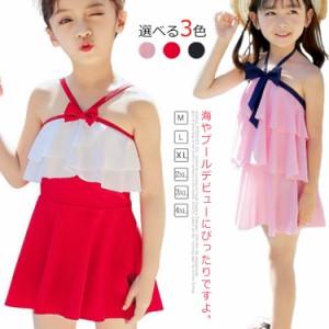 子供水着 スイムウエア スクール水着  水着ワンピース 女の子 韓国風 水着 夏 子供 海 女児用 小学生 インナー付き かわいい 新作