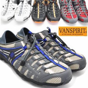 VAN SPIRIT/ヴァンスピリット/クロッグ/サボ/上履き/キックバック式/カジュアル/No7240