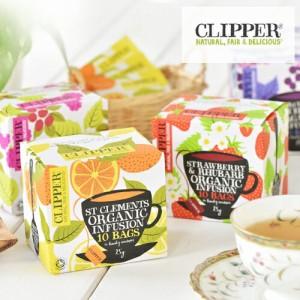 クリッパー オーガニック 10ティーバッグ[clipper 有機栽培 オーガニック ハーブティ 紅茶 オーガニック認証 お茶 EU有機認証 有機JAS]