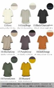 ●BIGSALE●フェイクレイヤードくしゅくしゅシャーリング5分袖カットソー【M】【L】【LL】【3L】【4L】Tシャツ レディース 2018夏新作