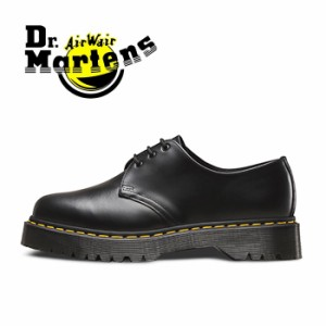 ドクターマーチン 3ホール 3アイレット ベックス メンズ レディース ブーツ シューズ 黒 ブラック 厚底 Dr.Martens BEX CORE 1461 BLACK
