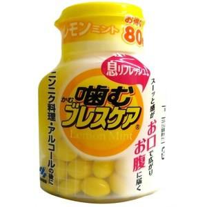 噛むブレスケア ボトル レモンミント : 小林製薬