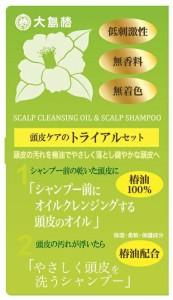 大島椿 頭皮のトライアルセット 44g ( 4970170102070 )
