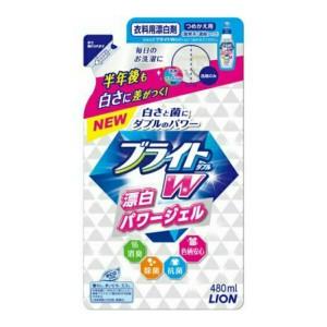 ブライトW つめかえ用 480ML × 20個 : ライオン