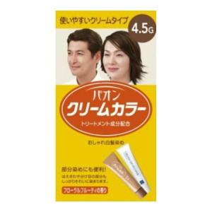 シュワルツコフ ヘンケル パオン クリームカラー4.5G 暖かみのある栗色  (ヘアカラー 白髪染め 女性用)( 4987234310463 )