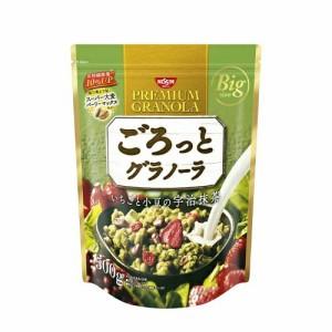シスコ ごろっとグラノーラ いちごと小豆の宇治抹茶×6個セット (4901620161217)
