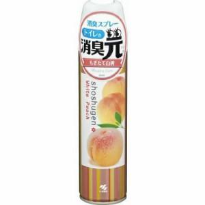 消臭元スプレー もぎたて白桃 : 小林製薬