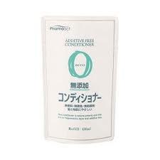 ファーマアクト 無添加コンディショナー 詰替用 × 24個 : 熊野油脂
