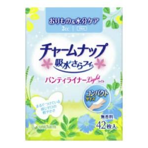 チャームナップ吸水さらフィPライナーライト無香42枚 × 36個 : ユニ・チャーム(ユニチャーム)