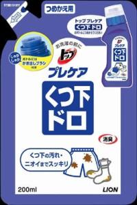 ライオン トッププレケア ドロ用 つめかえ 200ml ( 部分洗い 泥汚れ 洗濯用洗剤 ) ( 4903301784319 )
