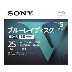 ソニー ブルーレイディスク R4倍速1層 Vシリーズ 5BNR1VLPS4 5枚入 ( 4548736037229 )