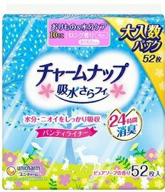 チャームナップ吸水さらフィロングパンティライナー香り52枚 : ユニ・チャーム(ユニチャーム)