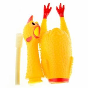 さけぶ チキン シャウティングチキン 43cmチキン人形 サマナーズウォーCM アメリカ雑貨【あす楽/即納】