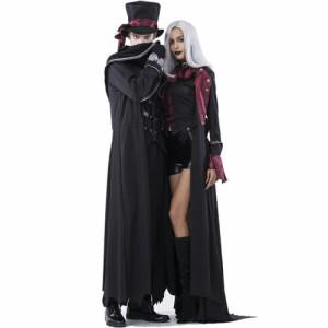ハロウィン 吸血鬼 ドラキュラ 衣装 仮装 コスプレ コスチューム ハロウィーン メンズ レディース ペアルック お揃い 2017 halloween cos