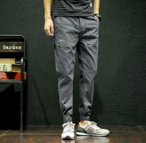3000円以上送料無料 ボトムス メンズ パンツ ロングパンツ ジョガー ベイカー ベーカー ワンポイント シンプル カジュアル メンズファッ