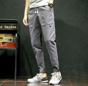 3000円以上送料無料 ボトムス メンズ パンツ ロングパンツ ジョガー ベイカー ベーカー 腰紐 ウエストリブ カジュアル メンズファッショ