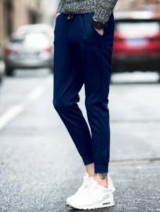 3000円以上送料無料 スウェットパンツ メンズ ボトムス パンツ ロングパンツ ジョガー シンプル 無地 カジュアル キレイめ 単色 腰紐