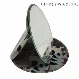 鏡 インテリア・寝具・収納 猫 ラウンドミラー L 猫会議 日本製 国産品 ミラー 3000円以上送料無料