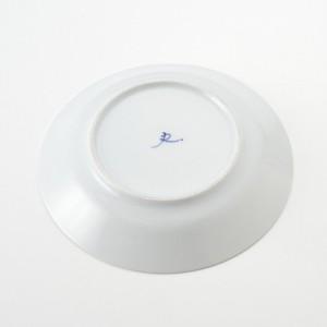 中皿 食器・調理器具 波佐見焼 indigo 7号皿 日本製 国産 キッチン用品 食器 洋食器 3000円以上送料無料