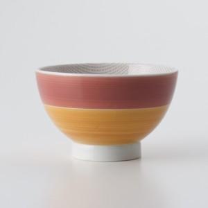 ご飯茶碗 食器・調理器具 襲色目 かさねいろめ 朱柿 飯碗 日本製 国産 キッチン用品 食器 和食器 陶器 和風 料理 3000円以上送料無料