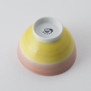ご飯茶碗 食器・調理器具 襲色目 かさねいろめ 桃黄 飯碗 日本製 国産 キッチン用品 食器 和食器 陶器 和風 料理 3000円以上送料無料