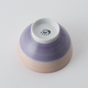 ご飯茶碗 食器・調理器具 襲色目 かさねいろめ 桃藤 飯碗 日本製 国産 キッチン用品 食器 和食器 陶器 和風 料理 3000円以上送料無料