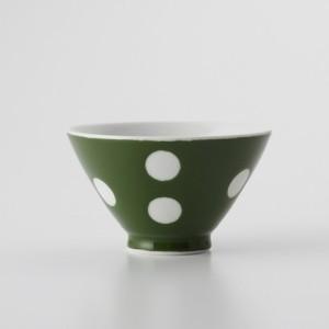 ご飯茶碗 食器・調理器具 常盤 水玉 飯碗 日本製 国産 キッチン用品 食器 和食器 陶器 和風 料理 3000円以上送料無料