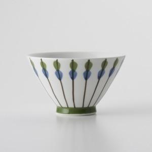 ご飯茶碗 食器・調理器具 常盤 矢羽根 飯碗 日本製 国産 キッチン用品 食器 和食器 陶器 和風 料理 3000円以上送料無料