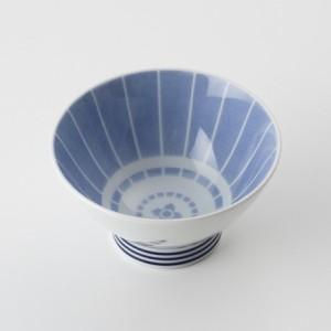 ご飯茶碗 食器・調理器具 番傘 青 飯碗 日本製 国産 キッチン用品 食器 和食器 陶器 和風 料理 3000円以上送料無料