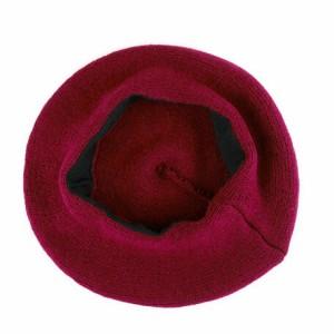 ベレー帽 メンズ 小物 シンプル アクリル ニットベレー ヤング 帽子 レディース 男性用 3000円以上送料無料