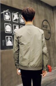 ジャンパー ブルゾン メンズ アウター スタジャン スタンドカラー ボタン シンプル カジュアル メンズファッション 3000円以上送料無料