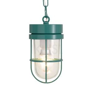 屋外照明 玄関 照明 軒下 外灯 屋外対応 LED マリンランプ ペンダントライトP6000 MG CL LE メイグリーン ガーデンライト真鍮製 照明器具