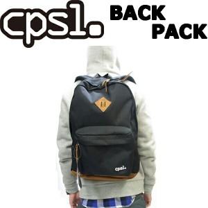 """cpsl. 【カプセル】 BACK PACK 【バックパック】 ブラック リュック コーデュラ 耐久"""