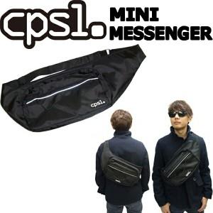 """""""cpsl. 【カプセル】 MINI MESSENGER 【ミニメッセンジャー】 ブラック ショルダーバッグ"""""""