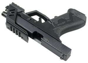 SRU G17 Advanced Frame GBB ピストル OD