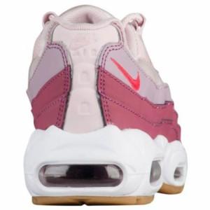 (取寄)ナイキ レディース エア マックス 95 Nike Women's Air Max 95 Barely Rose Hot Punch Vintage Wine White Rose