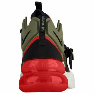(取寄)ナイキ メンズ エア フォース 270 Nike Men's Air Force 270 Medium Olive Black Total Orange Sail