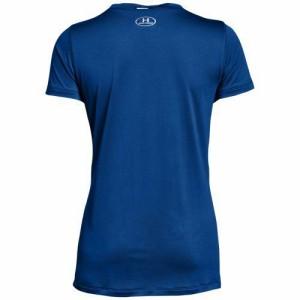 (取寄)アンダーアーマー レディース チーム ロッカー ショートスリーブ Tシャツ Under Armour Women's Team Locker S/S T-Shirt Royal