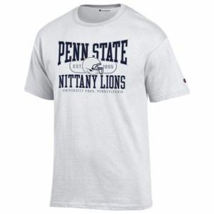(取寄)チャンピオン メンズ カレッジ Tシャツ ペン ステイト ニタニー ライオンズ Champion Men's College T-Shirt ペン ステイト
