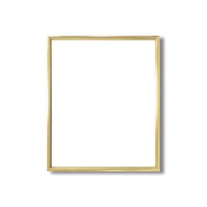 デッサン額縁/フレーム 【大衣サイズ 509×394mm】 ゴールド 壁掛けひも付き 化粧箱入り 5002