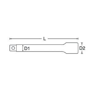 SIGNET(シグネット) 14506 3/4DR エキステンションバー 200MM