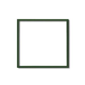 【角額】木製正方額・壁掛けひも■5767 300角(300×300mm)「グリーン」