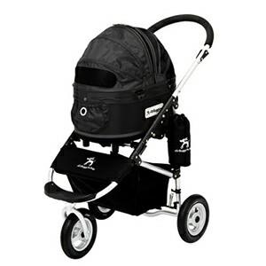 エアバギー フォードッグ ドーム2 スタンダードモデル SMサイズ ブラック ペット用バギー Air Buggy(犬用)【返品・交換不可】
