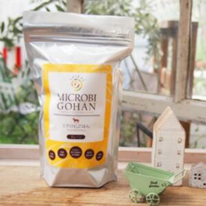 ミクロビごはん プレーンキューブ Mサイズ 450g (犬用) 食物繊維と生酵素 【正規品】