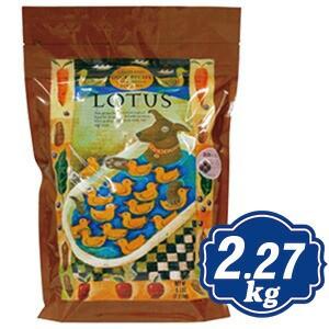 ロータス グレインフリー ダックレシピ 小粒 2.27kg Lotus ドッグフード 【正規品】