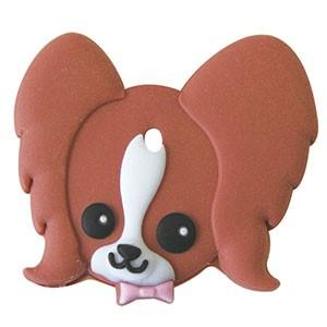 ペットキーカバー 犬 パピヨン 【メール便可】