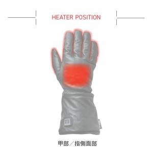 ヒーテック(Heatech) ヒートインナーグローブ 2015 Womenサイズ わずか10秒で発熱! バイク用 電熱グローブ 3段階温度調節機能付