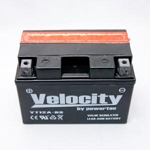 バイクバッテリー 蓄電池 YT12A-BS FT12A-BS 互換対応 1年保証 密閉式(MF) 液別(液付属)